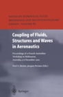 Coupling of Fluids, Structures and Waves in Aeronautics : Proceedings of a French-Australian Workshop in Melbourne, Australia 3-6 December 2001 - eBook