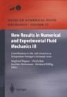 New Results in Numerical and Experimental Fluid Mechanics III : Contributions to the 12th STAB/DGLR Symposium Stuttgart, Germany 2000 - eBook