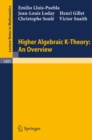 Higher Algebraic K-Theory: An Overview - eBook