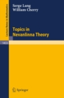 Topics in Nevanlinna Theory - eBook