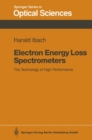Electron Energy Loss Spectrometers : The Technology of High Performance - eBook