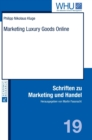 Marketing Luxury Goods Online - Book