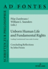 Unborn Human Life and Fundamental Rights : Leading Constitutional Cases under Scrutiny. Concluding Reflections by John Finnis - eBook