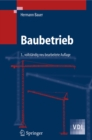 Baubetrieb - eBook