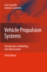 Vehicle Propulsion Systems : Introduction to Modeling and Optimization - eBook