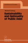 Sustainability and Optimality of Public Debt - eBook