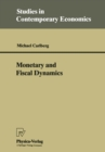 Monetary and Fiscal Dynamics - eBook