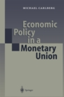 Economic Policy in a Monetary Union - eBook