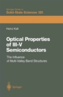 Optical Properties of III-V Semiconductors : The Influence of Multi-Valley Band Structures - eBook