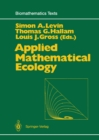Applied Mathematical Ecology - eBook