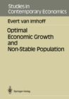 Optimal Economic Growth and Non-Stable Population - eBook