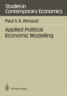 Applied Political Economic Modelling - eBook