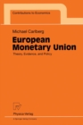 European Monetary Union : Theory, Evidence, and Policy - eBook