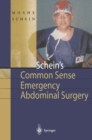 Schein's Common Sense Emergency Abdominal Surgery : A Small Book for Residents, Thinking Surgeons and Even Students - eBook