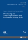 Developing and Assessing Academic and Professional Writing Skills - eBook