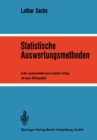 Statistische Auswertungsmethoden - eBook