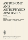 Astronomy and Astrophysics Abstracts : Literature 1983, Part 2 - eBook