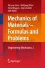 Mechanics of Materials - Formulas and Problems : Engineering Mechanics 2 - eBook