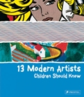 13 Modern Artists Children Should Know - Book