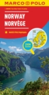 Norway Map - Book