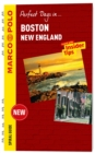 Boston Marco Polo Travel Guide - with pull out map - Book