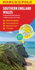 Southern England and Wales Marco Polo Map - Book