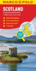 Scotland Marco Polo Map : Also covers Northern England - Book