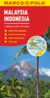Malaysia and Indonesia Marco Polo Map - Book