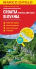 Croatia / Slovenia Marco Polo Map - Book