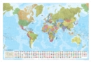 World Political Marco Polo Wall Map - Book
