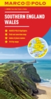 Southern England / Wales Marco Polo Map - Book