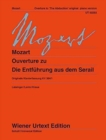 Overture to Die Entfuhrung Aus Dem Serail : Original Piano Version - Book