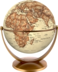 Antique World Globe 15cm : Swivel and Tilt World Antique Globe - Book