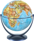 Political World Globe 15cm : Swivel and Tilt World Political Globe - Book