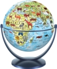 Animal World Globe 15cm : Swivel and Tilt World Animal Globe - Book
