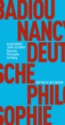 Deutsche Philosophie. Ein Dialog - eBook