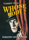 Whose Body? - eBook