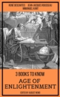 3 books to know Age of Enlightenment - eBook