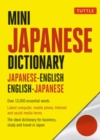 Mini Japanese Dictionary : Japanese-English, English-Japanese Fully Romanized - Book