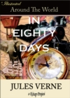 Around the World in Eighty Days : Illustrated - eBook