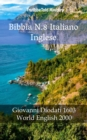 Bibbia N.8 Italiano Inglese : Giovanni Diodati 1603 - World English 2000 - eBook