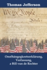 Onofhangegkeetserklarung, Verfassung, a Bill vun de Rechter : Declaration of Independence, Constitution, and Bill of Rights, Luxembourgish edition - eBook
