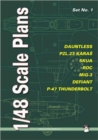 1/48 Scale Plans Set : No. 1 - Book