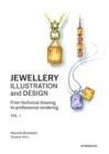 Jewellery Illustration and Design : Techniques for Achieving Professional Results - Book