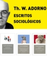 Pack Adorno III. Escritos Sociologicos - eBook