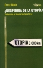 Despedida de la utopia? - eBook