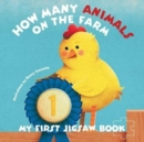 My First Jigsaw Book: How Many Animals On the Farm? - Book