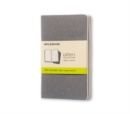 Moleskine Pebble Grey Plain Cahier Pocket Journal (3 Set) - Book