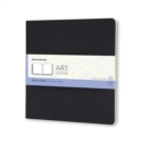 Moleskine Square Art Plus Cahier Sketch Album Black - Book