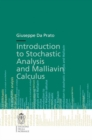 Introduction to Stochastic Analysis and Malliavin Calculus - eBook